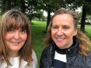 Davina and Ruth - Stevenston street surgery 2018